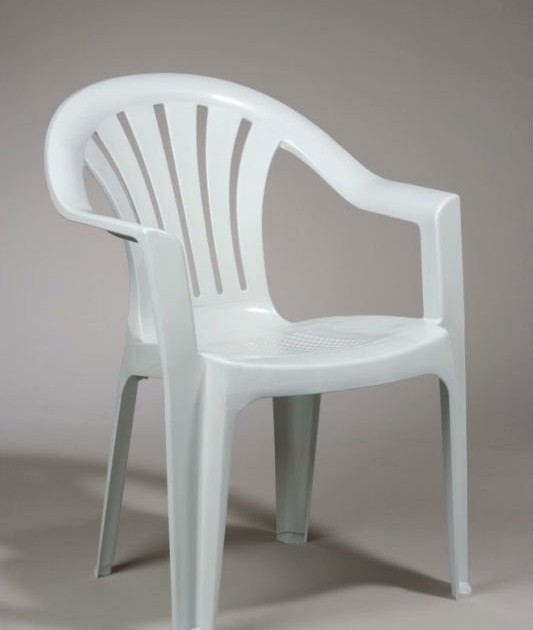 White Bistro Chair ...