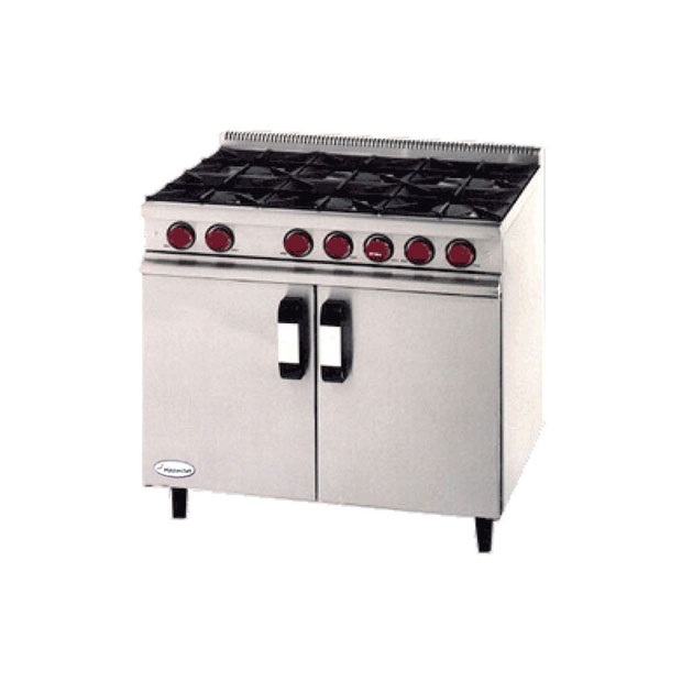 6 ring Hob and Oven