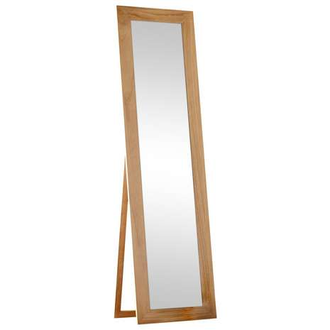 5ft Wooden Frame Mirror